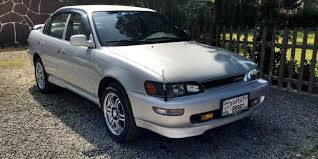1994 Toyota Corolla | big body | Pinterest | Toyota and Sedans