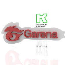 Logo de free fire con fondo transparente. Download Free 3ds File Garena Logo Free Fire Juego Gaming New 3d Printable Object Cults