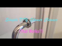 simple diy shower cleaner that works vinegar dawn