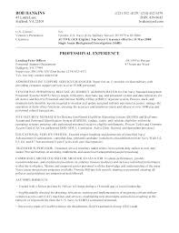 Federal Resume Format Sample Of Federal Government Resume Sample Of