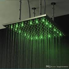 2019 modern water power led shower head with arm colorful led lamp light ceiling bathroom accessories home bath from happinessmrs 369 85 dhgate com