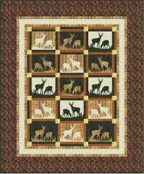 QDNW Mountain Meadow deer quilt pattern &  Adamdwight.com