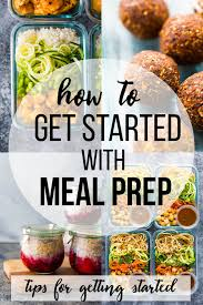 Planned Meals For A Week How To Meal Prep For The Week Tips To Get Started Sweet Peas And