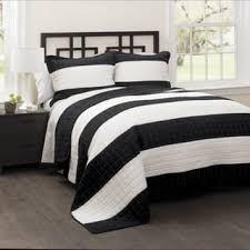 Black Quilts & Bedspreads For Less   Overstock.com & Lush Decor Stripe 3-piece Quilt Set Adamdwight.com
