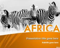 Free Safari Powerpoint Templates