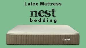 nest bedding latex mattress review natural organic