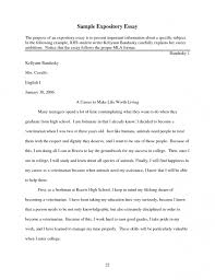 examples of expository essay topics co examples