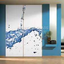 china back painted sliding glass door for wardrobe china painted glass back painted glass