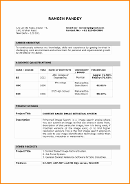 Pleasant Resume Samples for Freshers Teachers In India for Pdf Resume format