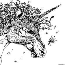 How To Draw And Color Cute Unicorn Head Coloring Pages Bodraw