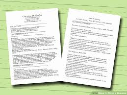 Self Employed Resume Samples Cool Resume For Self Employed Fresh 48 Ways To Make A Resume Wikihow