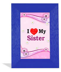 i love my sister ation frame orted lock diary her