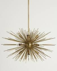 astra chandelier sputnik fillament light fixture nova68