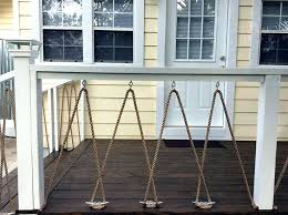 rope railing i modified an idea i found here on and used dock cleats and  rope