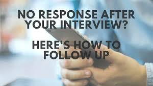How To Follow Up After Interview Best Solutions Of Sample Thank You