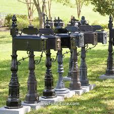 aluminum mailbox post. Cast Aluminum Mailboxes Brians Furniture Baton Rouge Area Mailbox Post