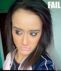 have you ever seen your makeup fail check out some makeup disasters some worst makeup ever some pictures of ugly makeup and some makeup fail pictures