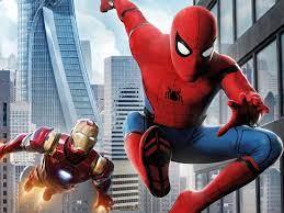 Spider man homecoming iron man-2017 ...