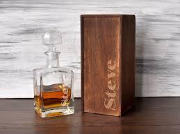 Groomsmen Gift Box Etched Whiskey Glass Best Men Gift Gift