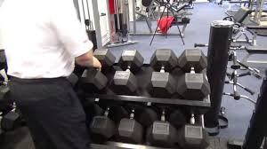 york legacy dumbbell set. york hex rubber dumbells and rack legacy dumbbell set s