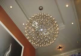 large modern sphere chandeliers