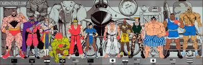 street fighter ii various artwork