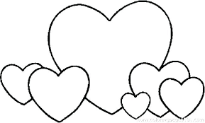 Heart Print Out Coloring Pages Heart Coloring Pages To Print Out