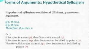 Hypothetical Syllogism 03 Ethics Pt 2 Modus Ponens Modus Tollens Hypothetical