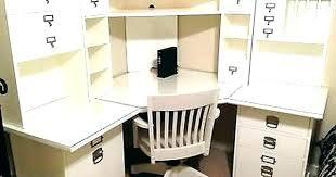 office desk corner. Small Corner Office Desk Home With Hutch Ensemble 3 Drawer For