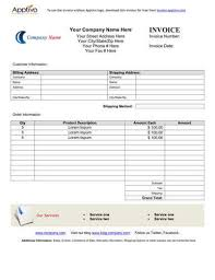 Sample Purchase Invoice Templates