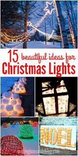 christmas outdoor lighting ideas. these gorgeous diy outdoor christmas lighting ideas are sure to bring joy over the holidays
