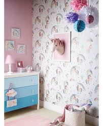 girls bedroom wallpaper ideas. the rainbow unicorn wallpaper by arthouse will add a touch of magic to your little one\u0027s. girl bedroom girls ideas r