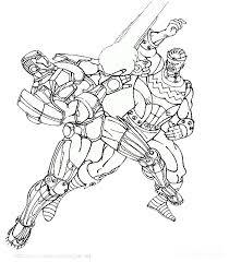 Iron Man Spider Man Il Supereroe Di Disegno Da Colorare