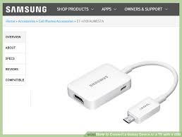 samsung tv lead. image titled connect a galaxy device to tv with usb step 2 samsung tv lead