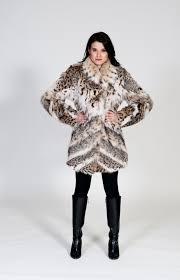 lynx bobcat 3 4 coat