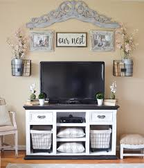 farmhouse style tv stand. Easy Farmhouse Style TV Stand Makeover Intended Tv