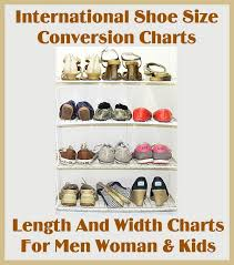 Korean Shoe Size Conversion Chart International Shoe Size Conversion Length And Width Charts