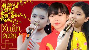 Tài Năng Nhí Hát Mừng Xuân - Liên Khúc Nhạc Xuân Bé Hà Vi, Thu Hường, Thanh  Ngọc