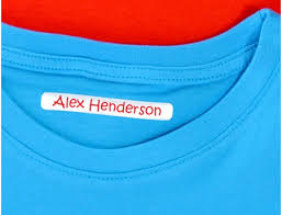 Image result for clothing name labels