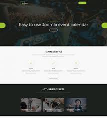 Calendar Templates For Websites Events Joomla Template With Free Event Calendar Joomla Monster