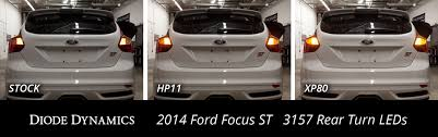 2015 Ford Focus Brake Light Bulb Replacement Ford Focus St Tail Light Leds Plug Play See Installed