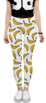 """Леггинсы """"<b>Бананы</b>"""" #2391130 от Анастасия - <b>Printio</b>"""