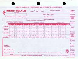 Drivers Log Book Sample 646 Fs A2 Drivers Daily Logs With Simplified Dvir 2 Ply