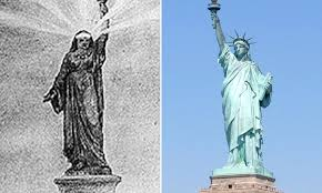 Statue Of Liberty Design History Frederic Auguste Bartholdi May Have Based The Statue Of