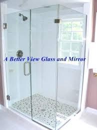 how to install shower door custom glass enclosure installed in sliding frameless installation cost d