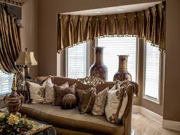 Window Dressing For Living Rooms Living 44 Pretty Window Dressing With Sheer Curtain And Valance