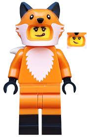 Minifig col355 : Lego Fox Costume Girl - Minifigure only ... - BrickLink