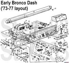 Ford bronco tech diagrams pictures videos and sounds eb73dash hits size kb posted