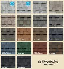 architectural shingles colors. Brilliant Shingles Landmark Series Shingles Colors To Architectural Shingles Colors