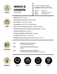 Resume Nakia D Hansen Esq